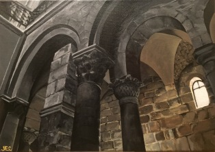 Arches: Church of the Holy Sepulchre, Jerusalem