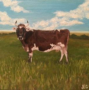 Cow: Prairie