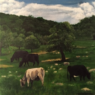 Cows: Orchard